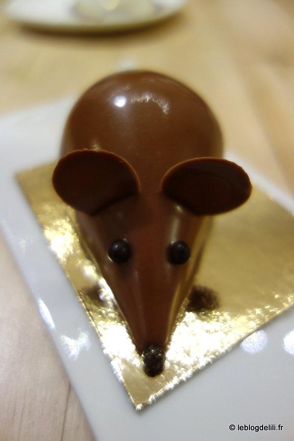 Un goûter chez une souris et des hommes