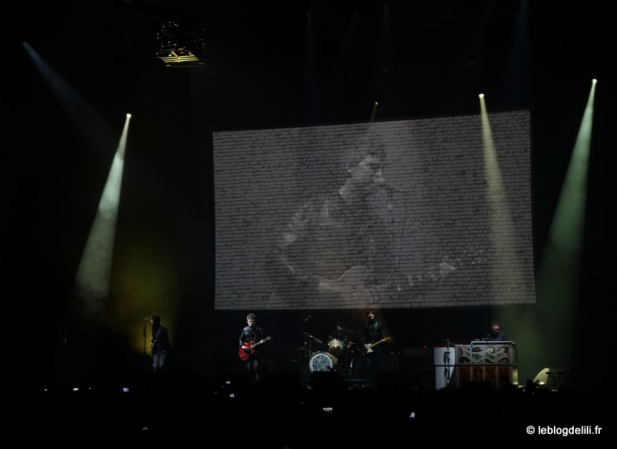 Le concert de Noel Gallagher's High Flying Birds au Zénith de Paris