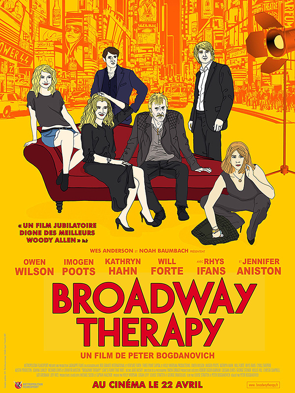 """Broadway therapy"" : la vie de couple mouvementée d'un microcosme New Yorkais"