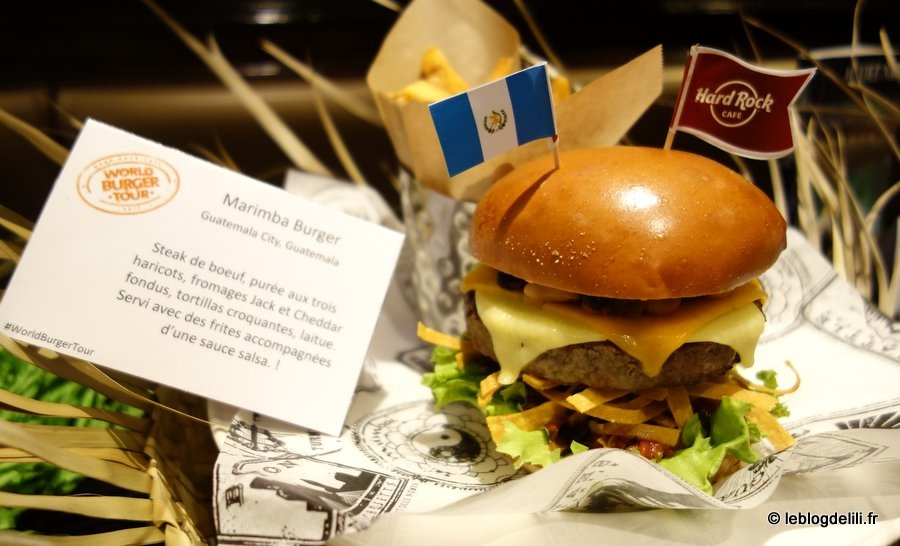 Le Hard Rock Cafe fait son World Burger Tour jusqu'à fin juin