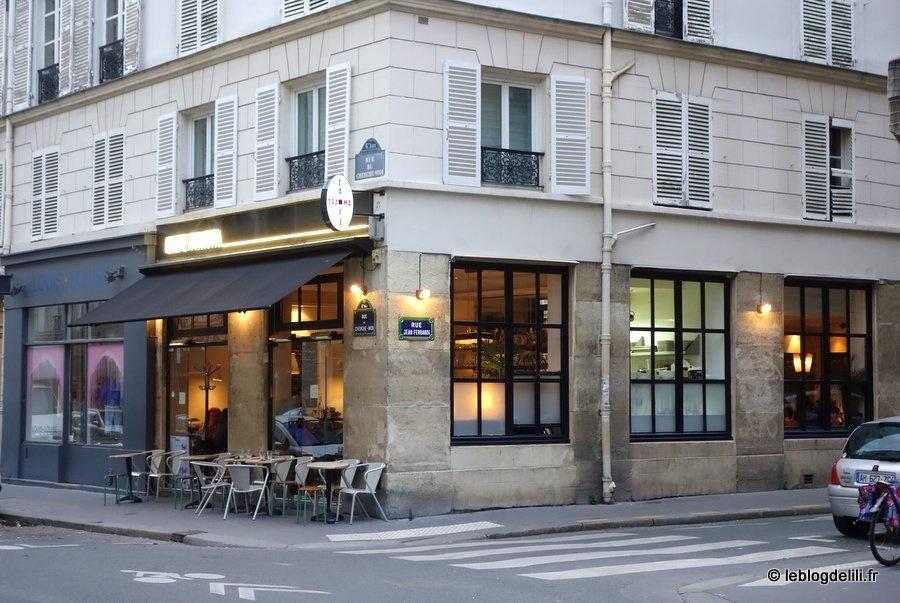 Le café Trama, une cuisine créative rue du cherche-Midi