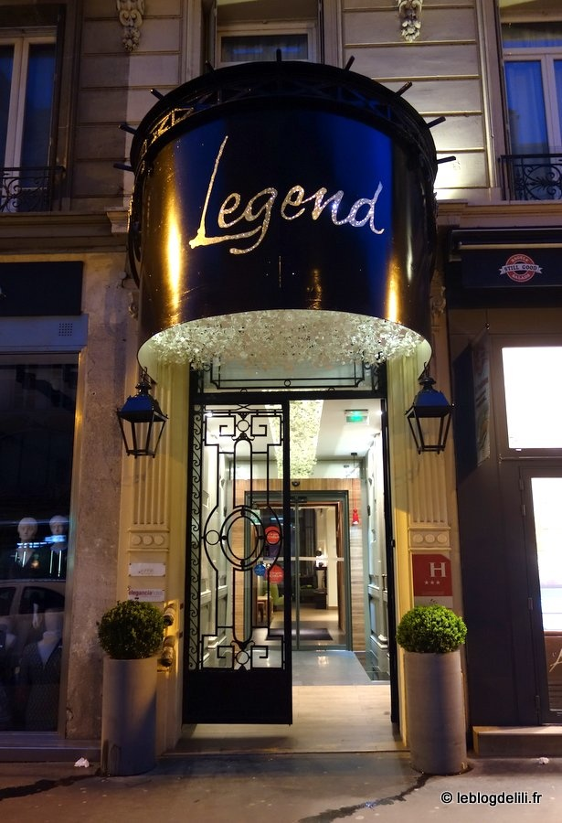 Une nuit sereine au Legend hotel, rue de Rennes
