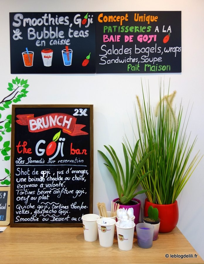 The Goji bar : Paris a désormais son salon de thé dédié à la baie de goji