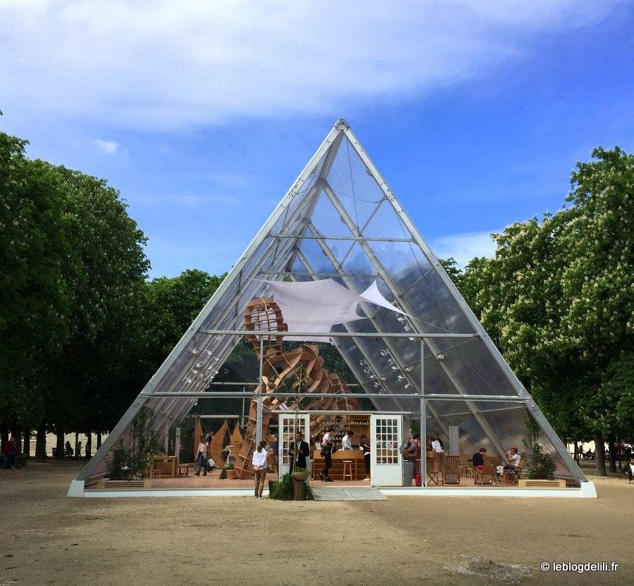 Bon plan santé et bien-être : une nouvelle pyramide au jardin des Tuileries !