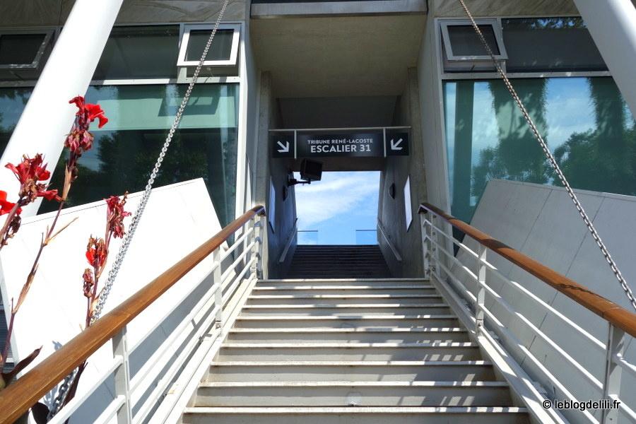 Visite des coulisses de Roland Garros, le stade des Internationaux de France de tennis