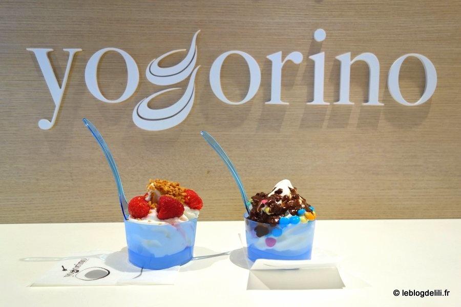 Yogorino, des yaourts glacés à Montorgueil