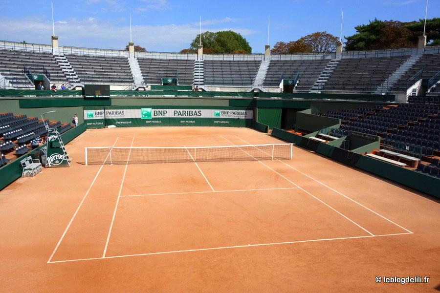 Visite des coulisses de Roland Garros, le stade des Internationaux de France de tennis