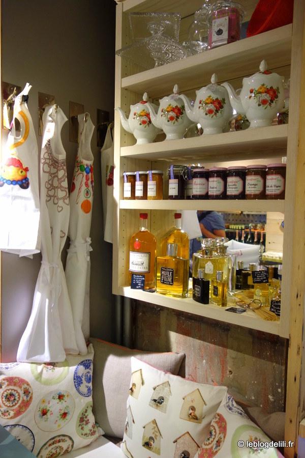 Le petit Flottes, à la croisée entre le comptoir gourmand et la boutique de filles
