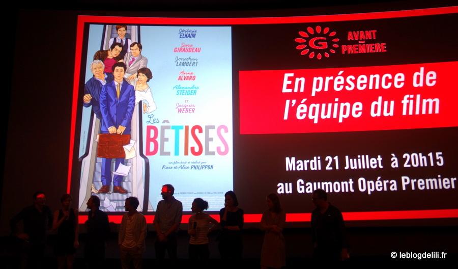 """""""Les bêtises"""", un film drôle et plein de douceur"""