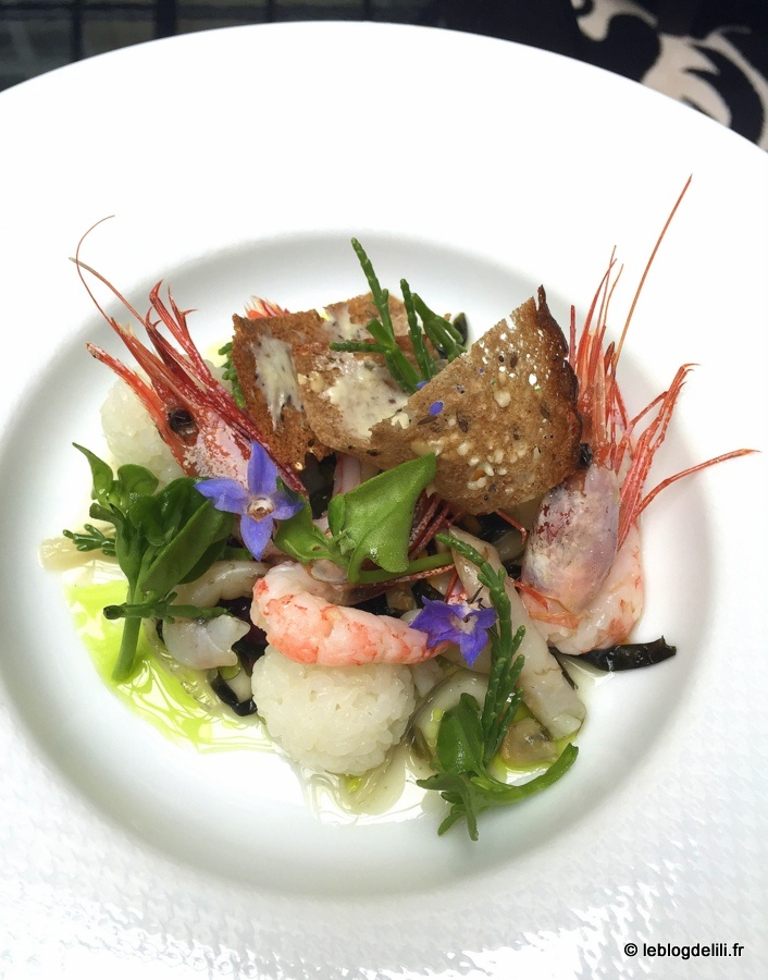 Un déjeuner estival à la Chinoiserie, restaurant de l'hôtel Hyatt Paris Madeleine