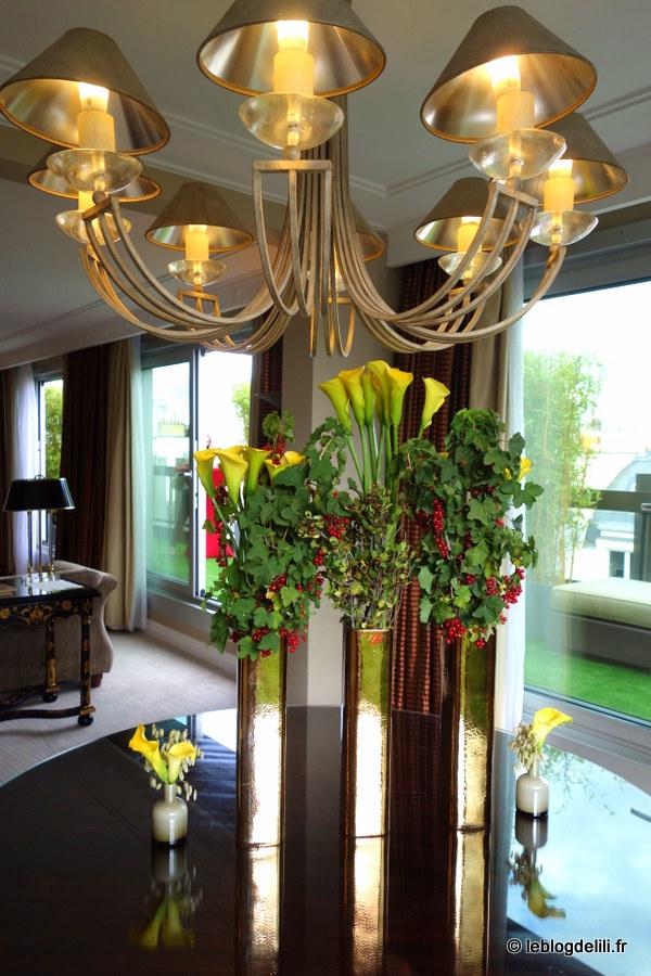 Profitez de l'été depuis la terrasse de l'hôtel Warwick