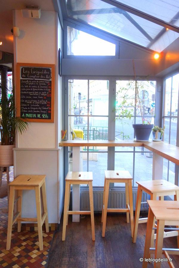 Le comptoir des arts : une cuisine colorée, savoureuse et généreuse