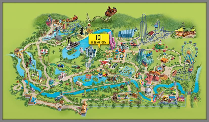 Notre journée 2015 en famille au parc d'attractions Nigloland