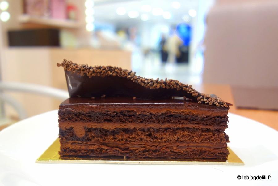 Arrêts gourmands au Printemps : Cojean et la maison du chocolat