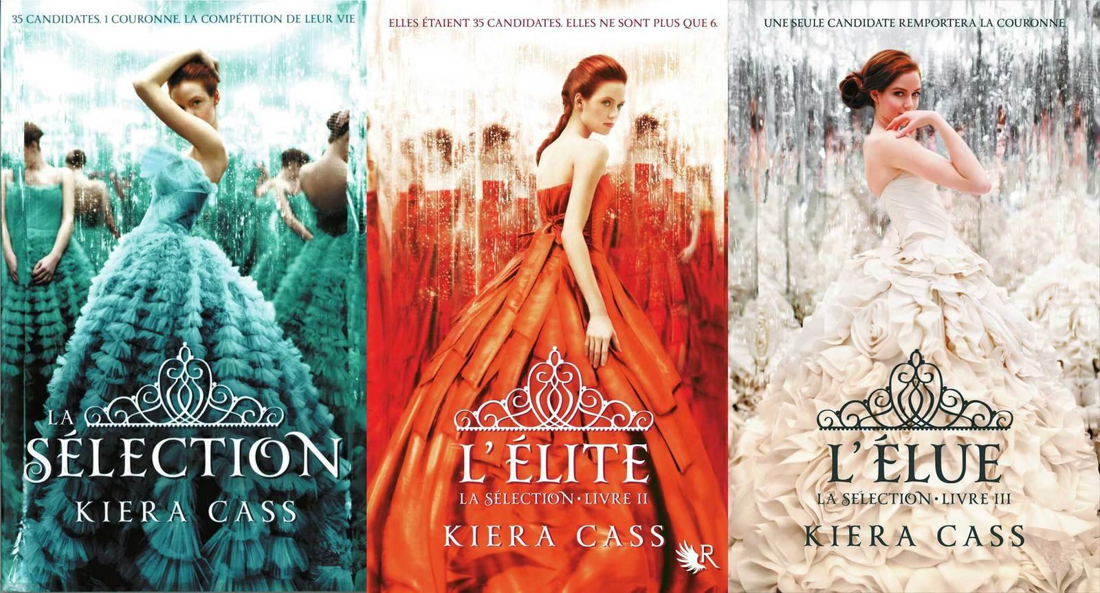 """Mes lectures de l'été #3 : """"L'élite"""" et """"L'élue"""", de Kiera Cass"""