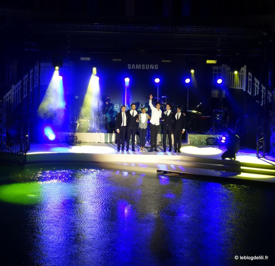 Le lancement du nouveau smartphone Samsung Galaxy S6 edge + à la piscine Molitor