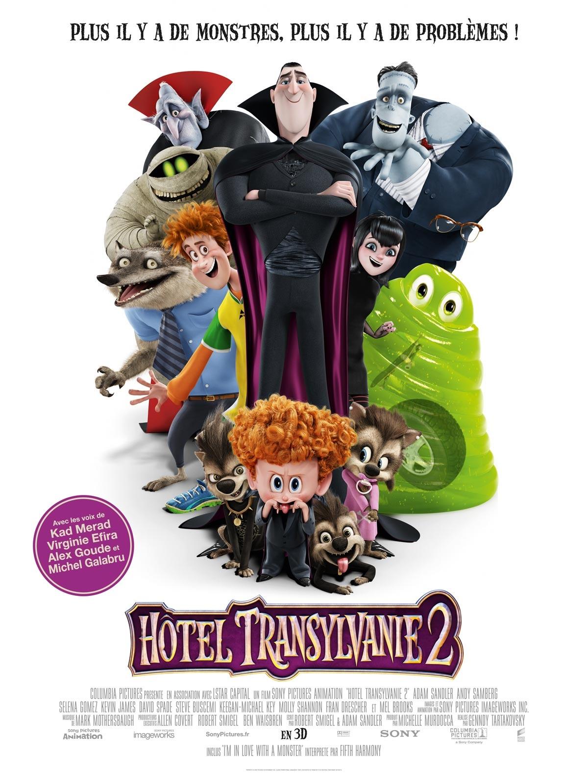 """Concours : gagnez vos places de ciné pour """"Hôtel Transylvanie 2"""" en famille"""