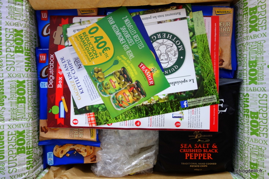 Degustabox : le coffret culinaire surprise d'août 2015