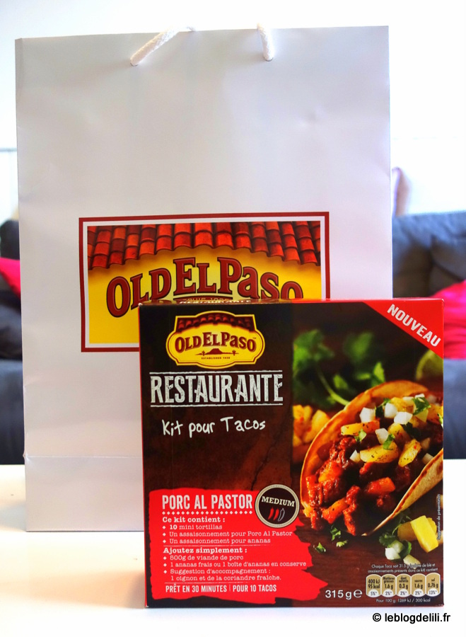 [Bon plan] Le foodtruck Old el Paso vous offre un taco contre une photo !
