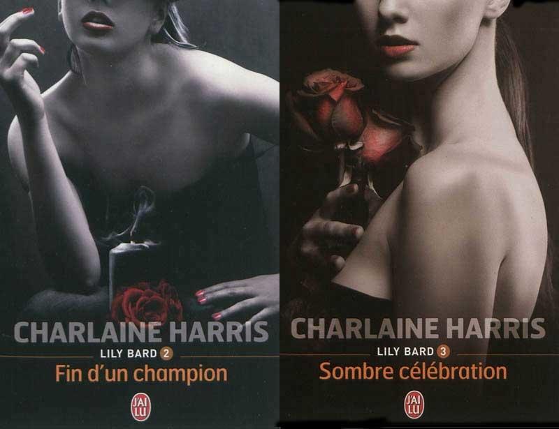 """Lily Bard tomes 2 et 3 : """"Fin d'un champion"""" et """"Sombre célébration"""", de Charlaine Harris"""