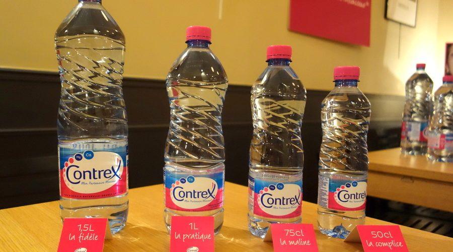 Trésor contrex : les bouteilles