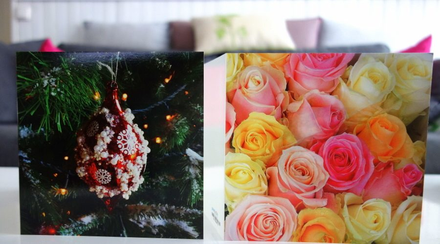 Cartes de vœux personnalisées sur le site Prentu