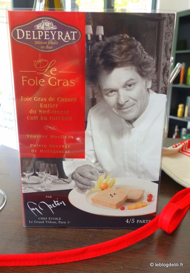 Noël 2015 : la collection gastronomique de Delpeyrat