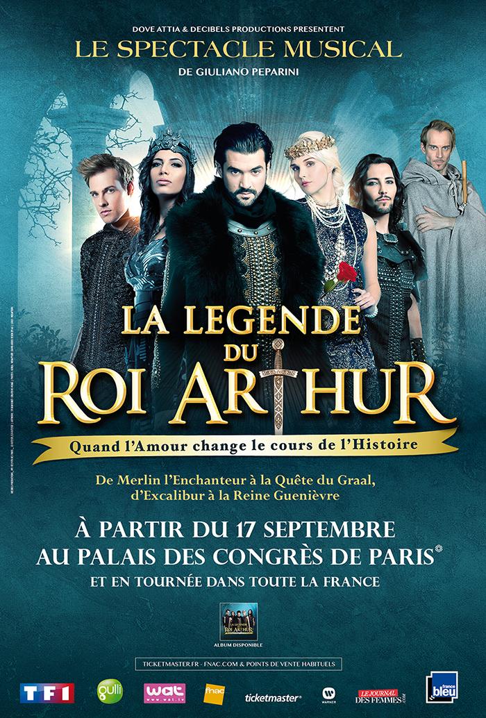 """La comédie musicale """"La légende du roi Arthur"""""""