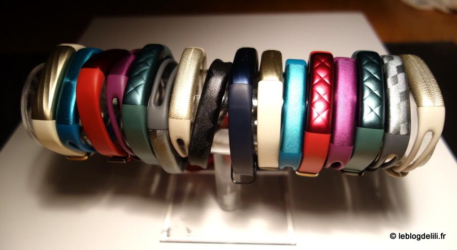 Gamme de bracelets Jawbone