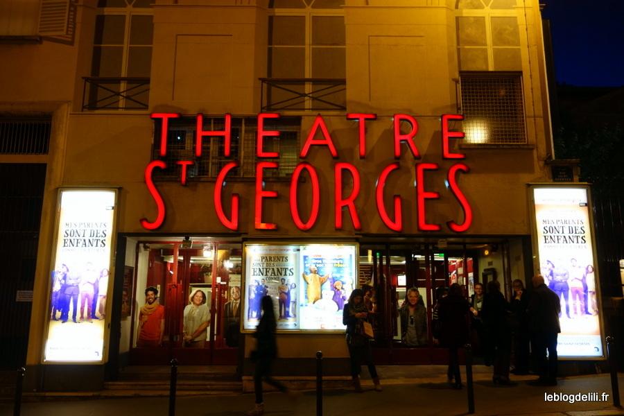 Mes parents sont des enfants comme les autres, au théâtre Saint-Georges