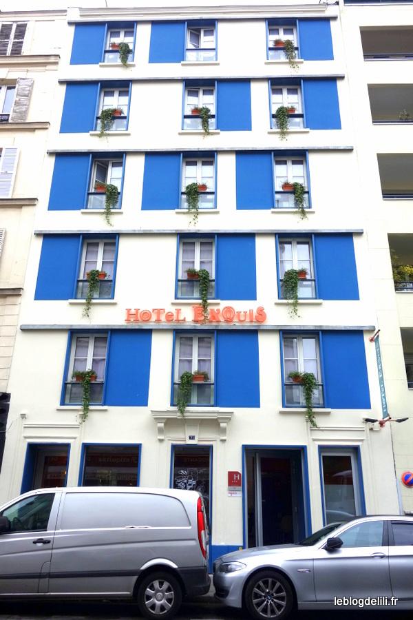 H tel exquis le charme elegancia hotels dans le 11e paris le blog de lili - Hotel tendance paris ...