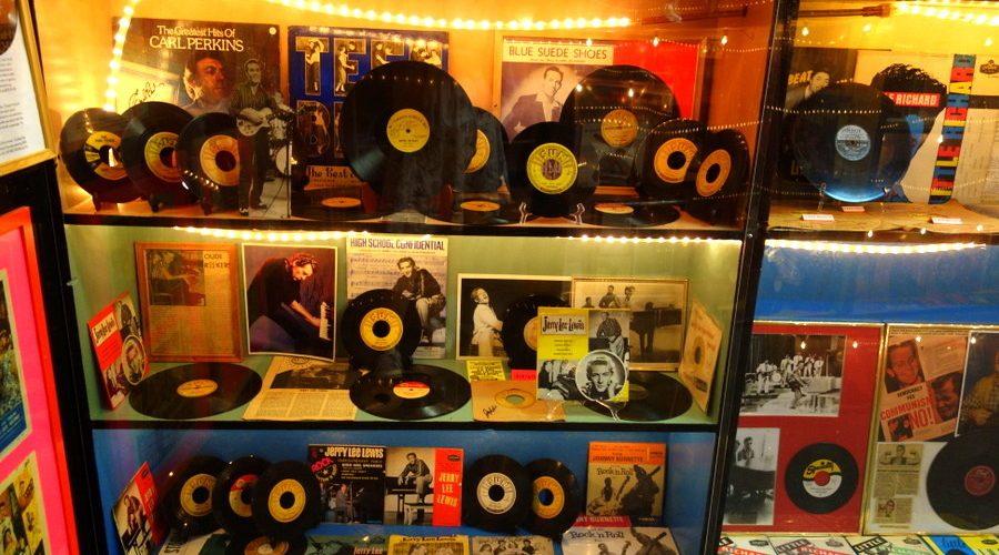 Le musée du rock et du blues à Clarksdale, dans le Mississippi