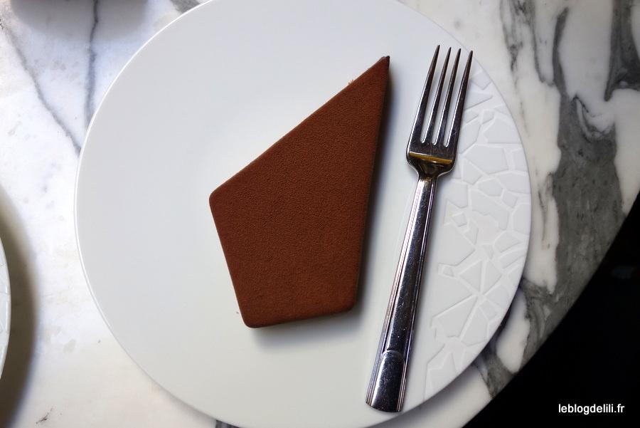 """Gourmandise parisienne : la bûche de Noël """"1928"""" du Prince de Galles"""