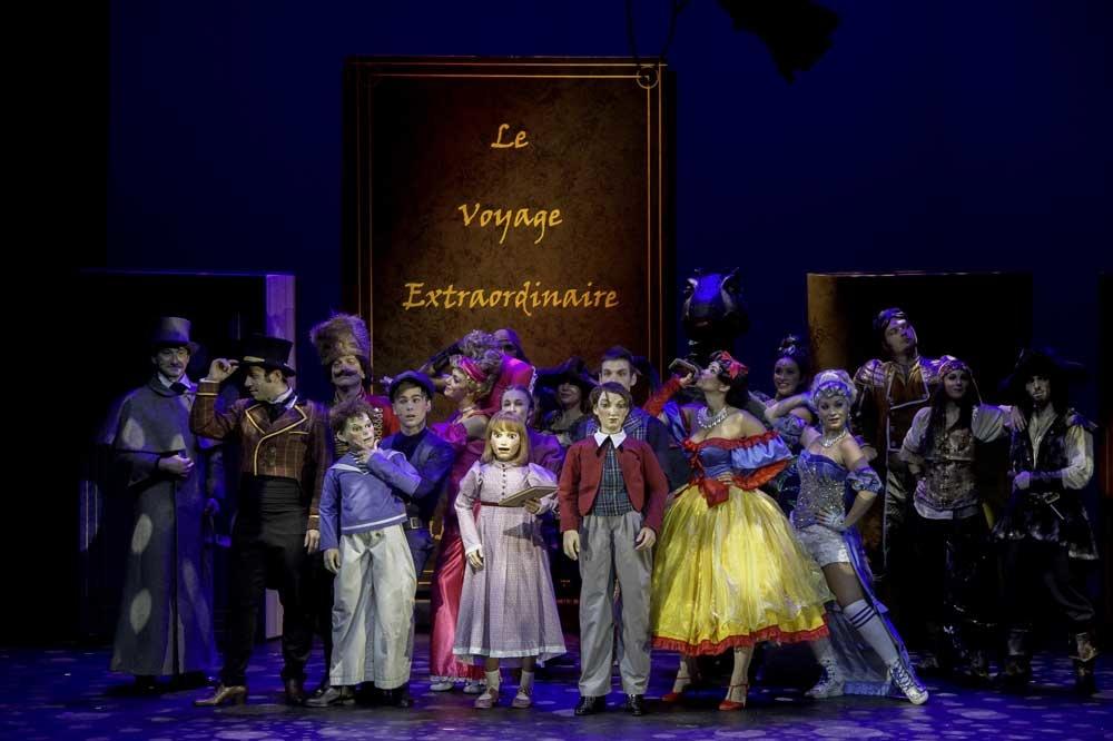 """Le voyage extraodinaire de Jules Verne"" - Photo : Olivier Brajon"