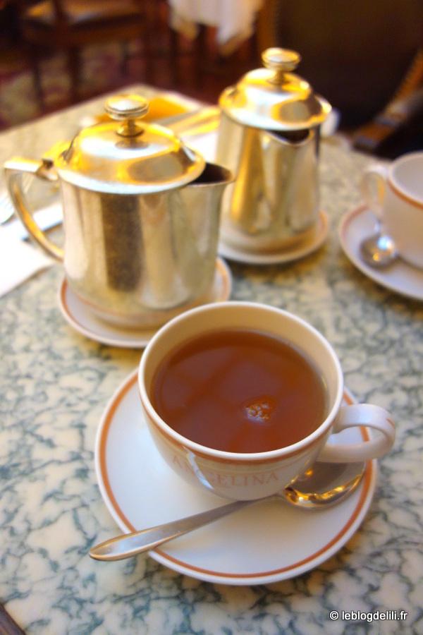 Mon premier tea time au salon de thé Angelina