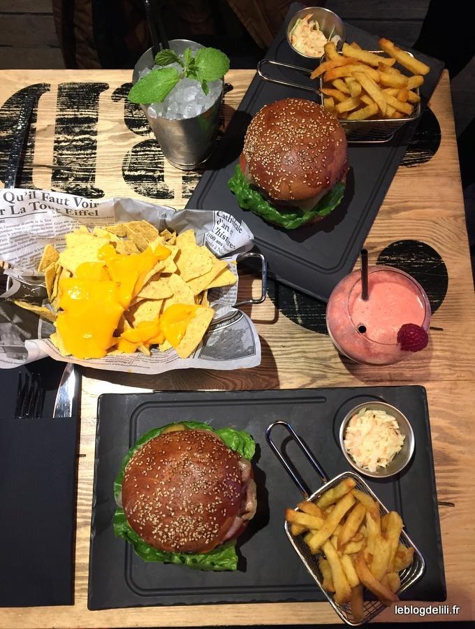 Cocktails et burgers à l'honneur au pub Saint-Michel (gagnez votre déjeuner !)