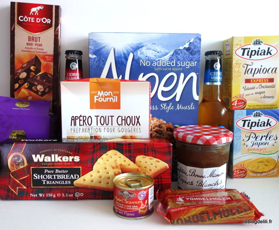 Degustabox : le coffret culinaire surprise de novembre 2015