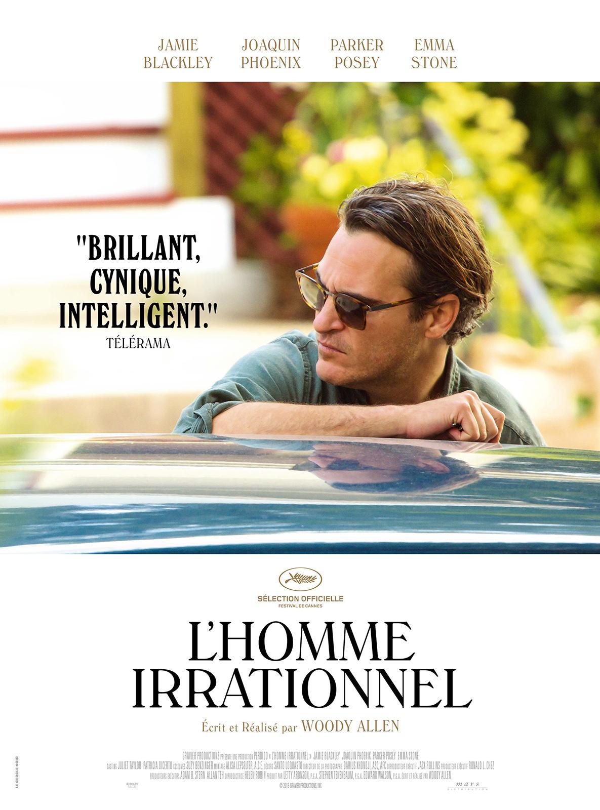 """""""L'homme irrationnel"""" : séduits par le dernier Woody Allen"""