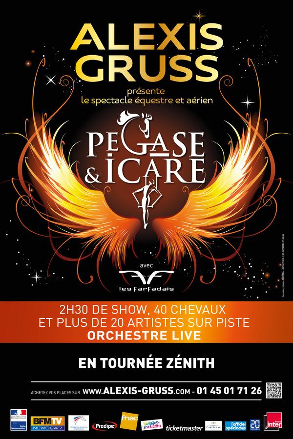 Pégase & Icare, le spectacle du cirque Alexis Gruss
