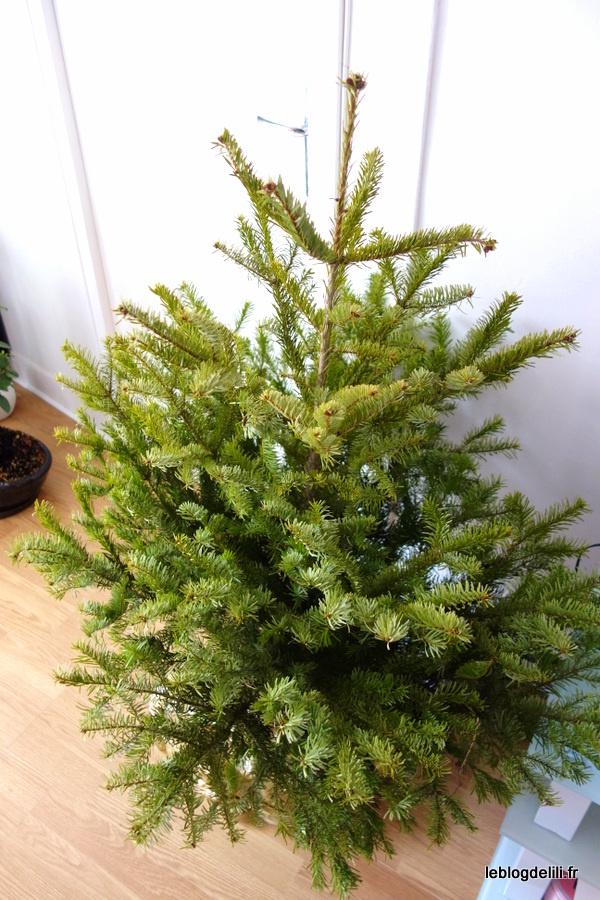 """Notre premier sapin de Noël """"rien qu'à nous"""""""