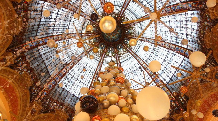 Le sapin 2015 des galeries Lafayette