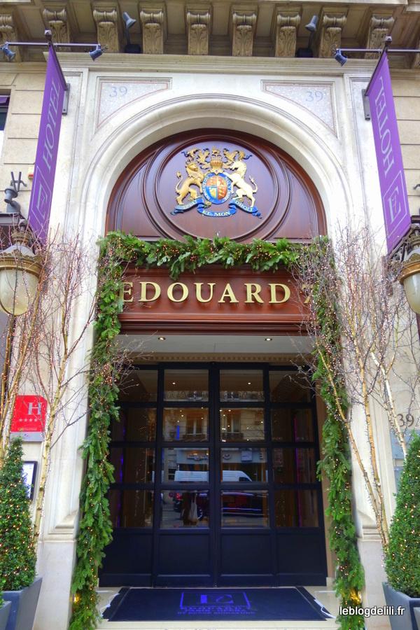 Dégustez la Winter bentox au bar de l'hôtel Edouard 7