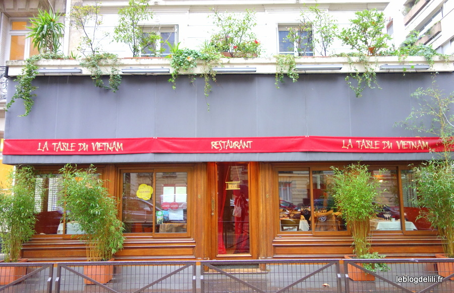 La table du Vietnam : une savoureuse escale à Paris (7e)