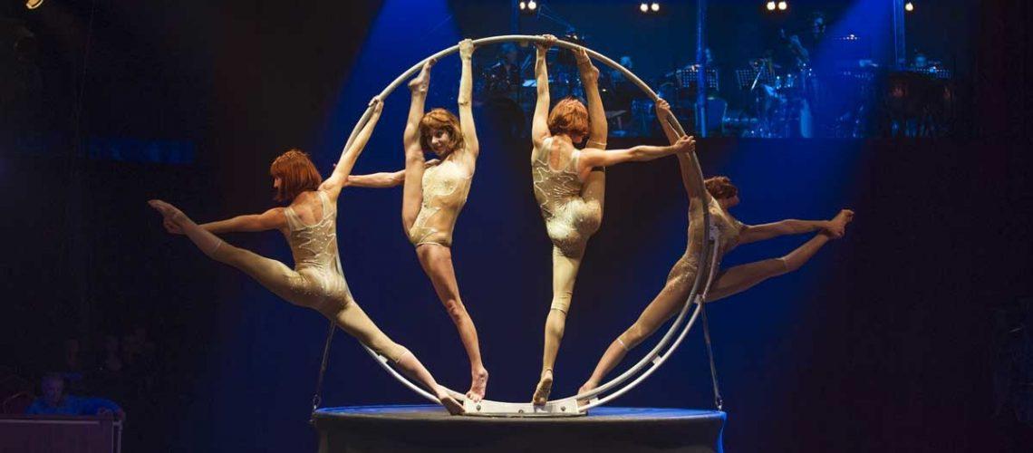 Les acrobates du cirque Alexis Gruss