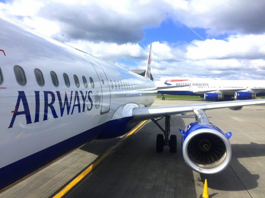 British Airways Vols San Francisco-Londres-Paris