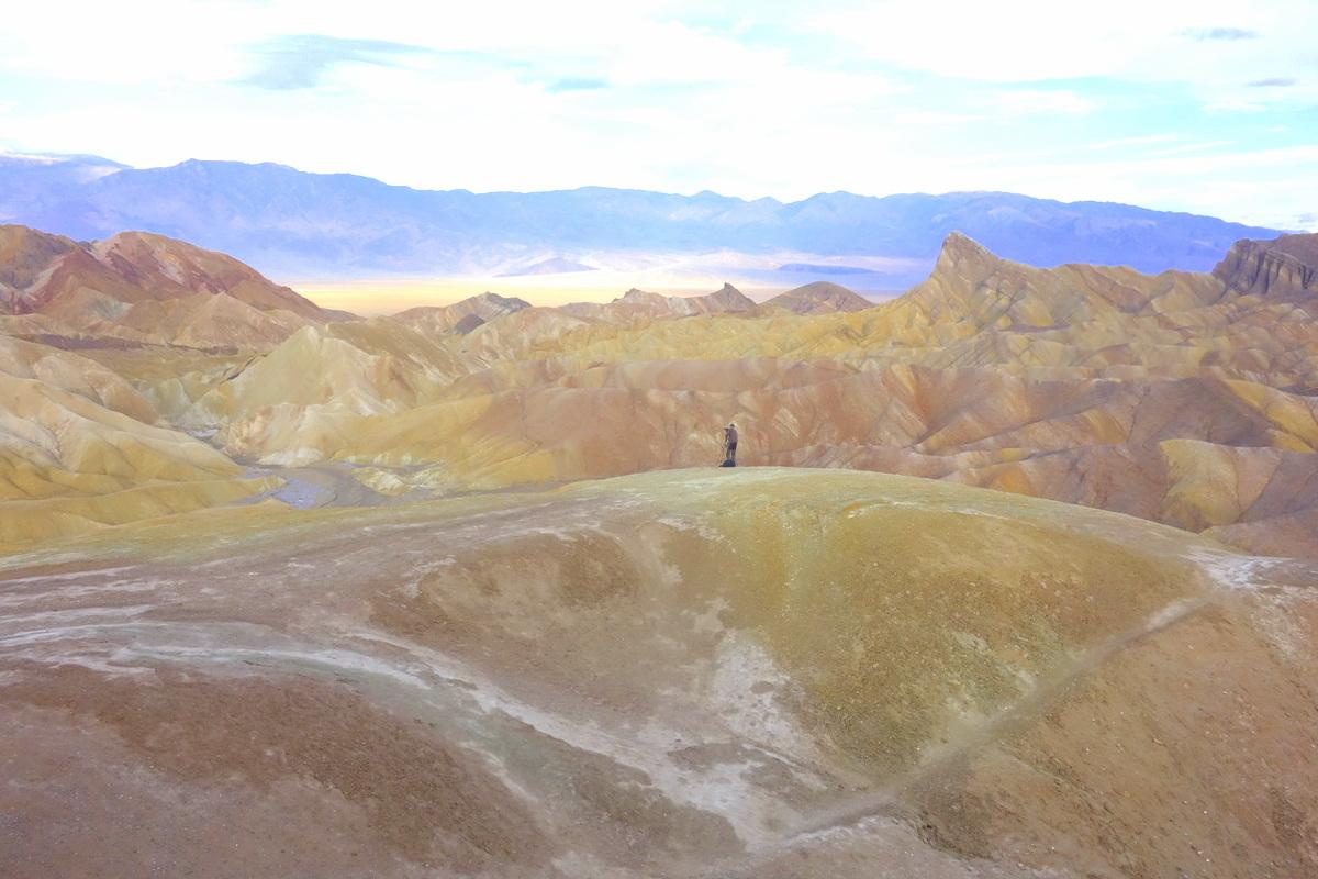 Lever de soleil sur la Vallée de la mort - Photo : le blog de Lili
