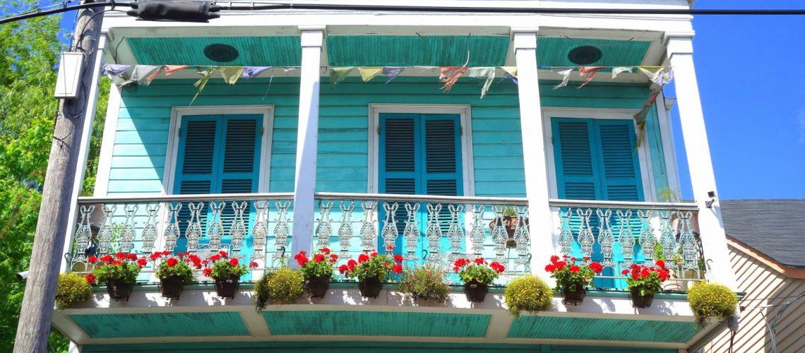 Les jolies maisons créoles de la nouvelle-Orléans, en Lousiane