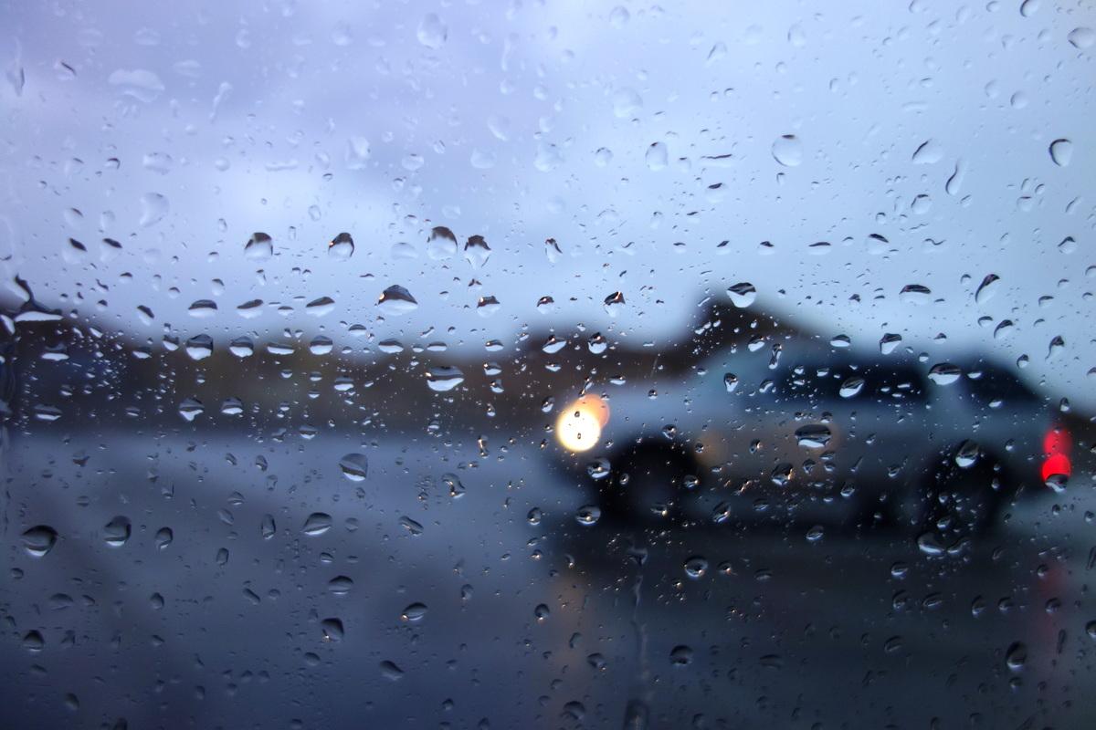 La vallée de la mort sous la pluie