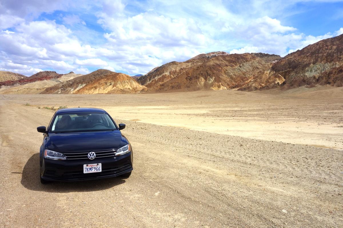 La voiture de notre rad trip aux Etats-Unis