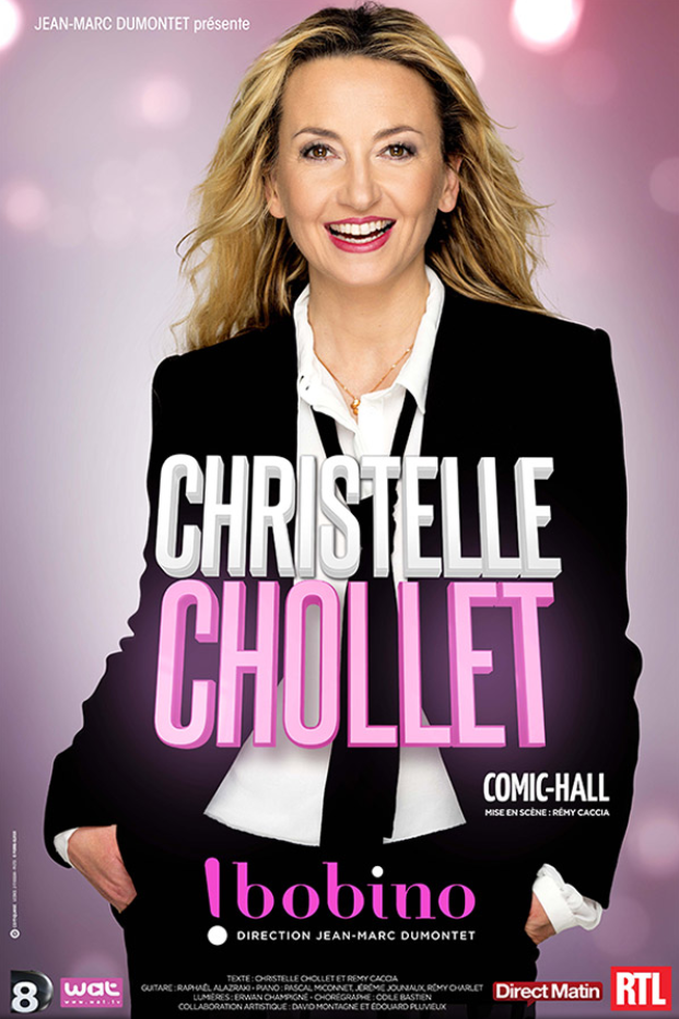Comic-Hall, le troisième spectacle de Christelle Chollet